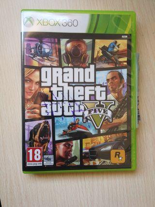 Grand theft auto V Xbox 2 discos 360.