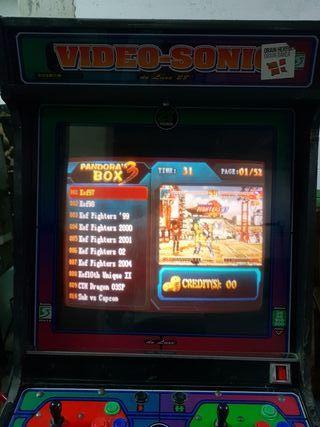 Maquina Video-Sonic 28 con chasis nuevo