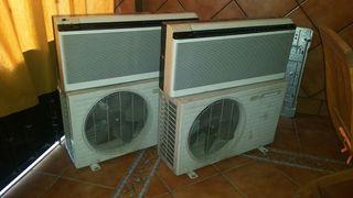 2 aires acondicionado Panasonic