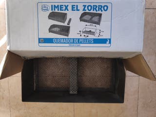 Cesta quemador de pellets Imex El Zorro