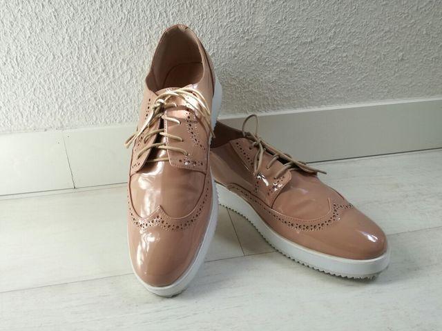 Zapatos Talla Grande 44 Derbys Castaluna De Segunda Mano Por 38 En Collado Villalba En Wallapop