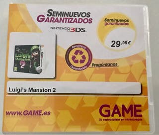 Luigi Mansion 2 Nintendo 3ds