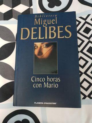 Libro CINCO HORAS CON MARIO, Miguel Delibes