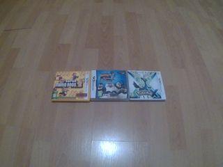 3 juegos de ninteno 3DS