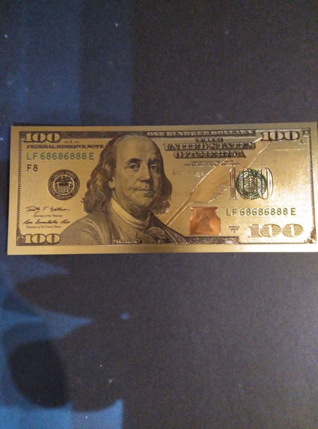 100 $ americanos . SC