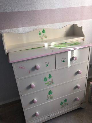 Dormitorio infantil de segunda mano en wallapop - Dormitorio segunda mano ...