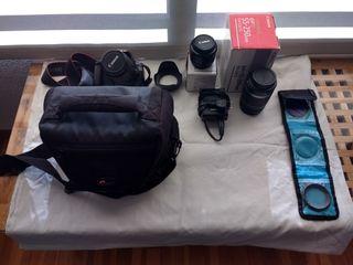 Canon EOS 1100d Cámara réflex digital + objetivos