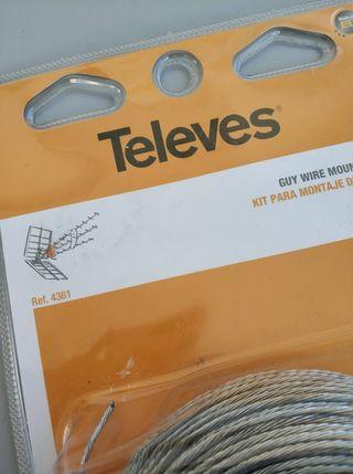 Kit Montaje Vientos Televes 4361