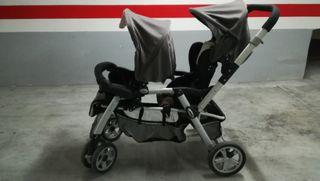 carrito gemelar jane twin two