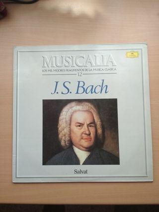 Disco vinilo J.S.Bach