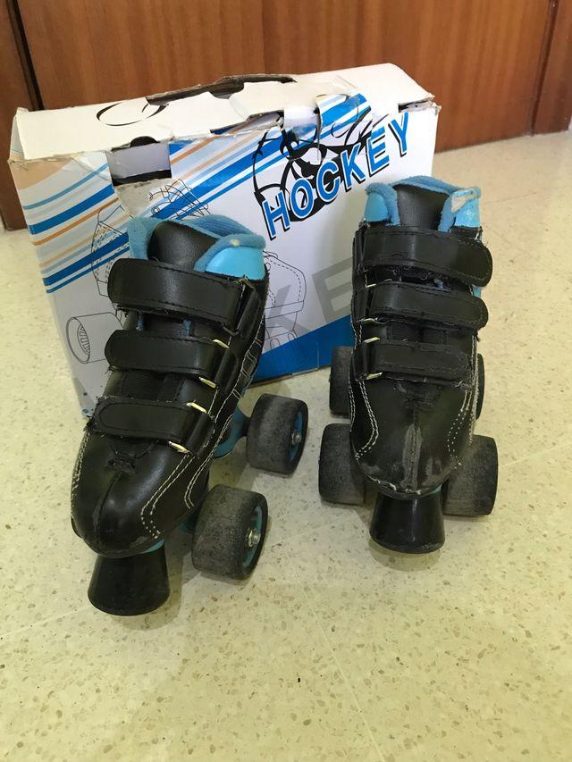 Patines infantiles de Hockey talla 28 F