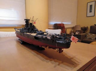 Maqueta Barco Yamato.