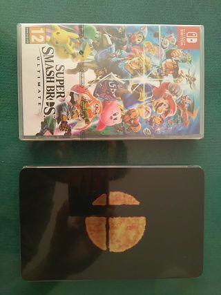 Super Smash Bross Ultimate & Steelbook