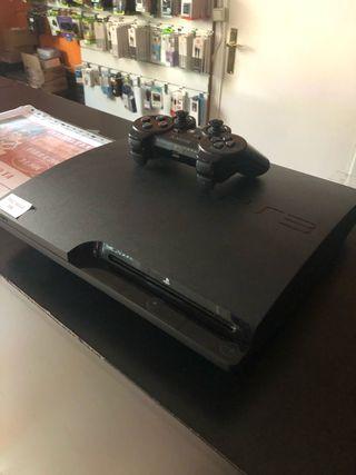 PS3 slim 120gb con mando, negociable