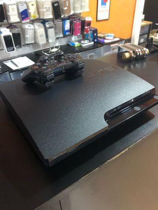 PS3 slim con mando 120gb, precio negociable