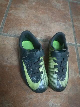 botas futbol niño 30