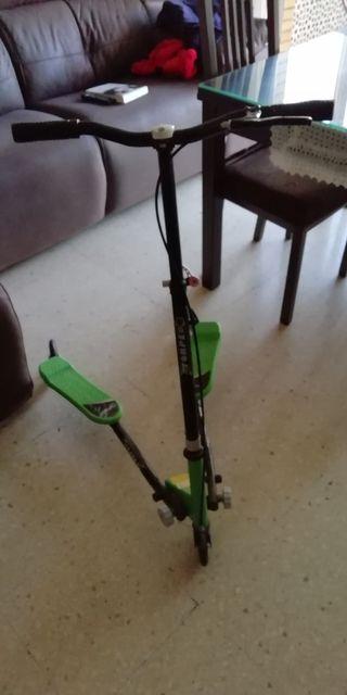 patinete 3 ruedas plegables