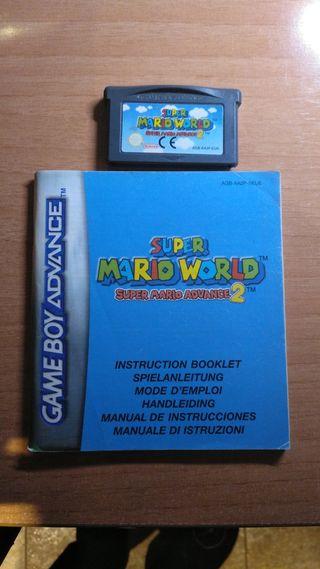 super mario world game boy advance