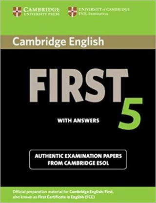 Libro inglés First 5 with answers