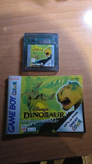 dinosaurios game boy color