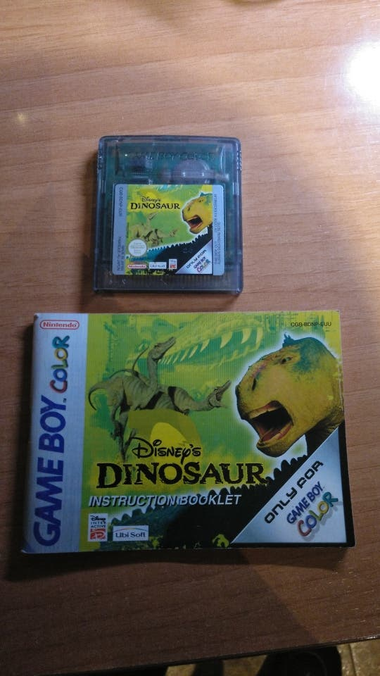 dinosaurios game boy color