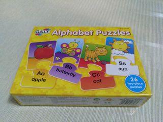 Puzzle Alfabeto Infantil Inglés
