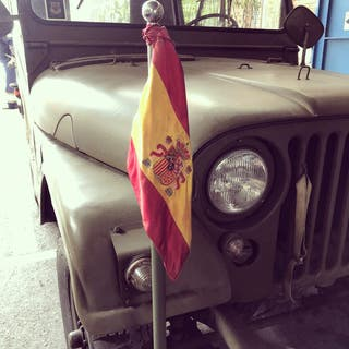 Jeep M38A1 Anfibio Nekaf 1953