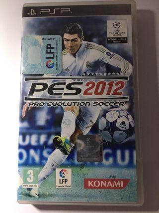 JUEGO PSP PES 2012
