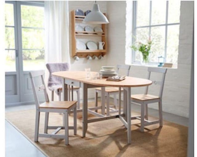 Mesa cocina ikea de segunda mano por 200 € en Breda en WALLAPOP