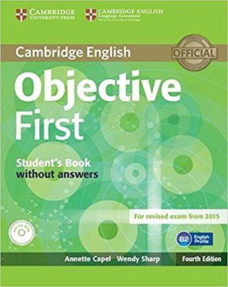 Libro inglés Objective First B2