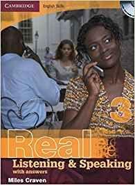 Libro inglés Real listening & speaking 3