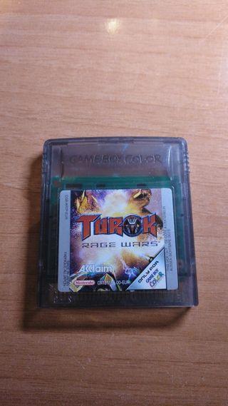 turok rage wars game boy color
