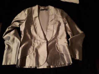 chaqueta de seda salvaje