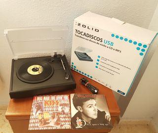 TOCADISCOS 33 45 78 rpm nuevo