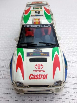 Coche Scalextric Rally