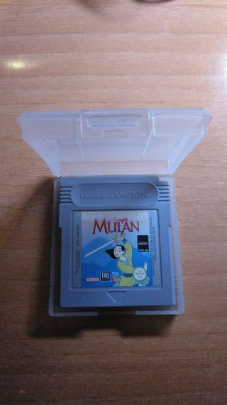Mulan game boy