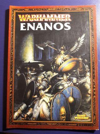 WARHAMMER ENANOS: LIBRO DE EJÉRCITO