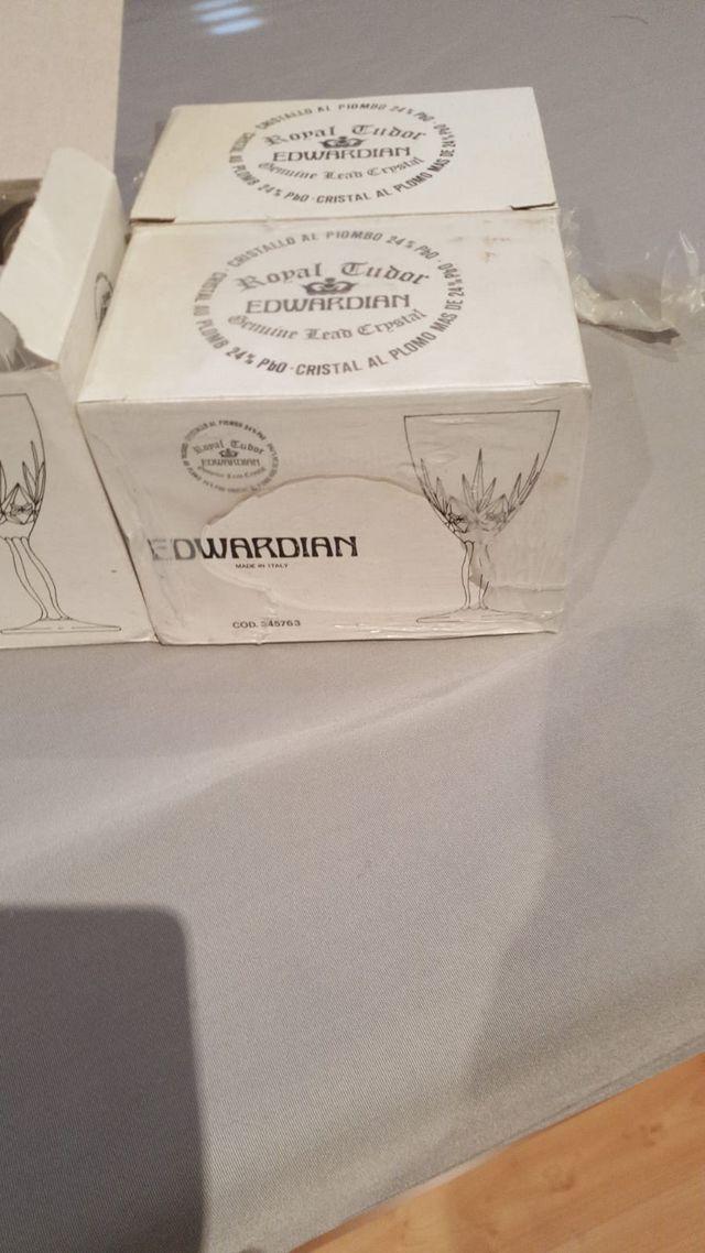 Copas de Cristal De Agua (docena)