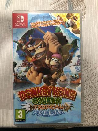 Juego Donkey kong Nintendo switch