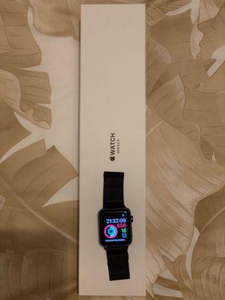 URGE-Apple Watch series 3 42mm gris espacial