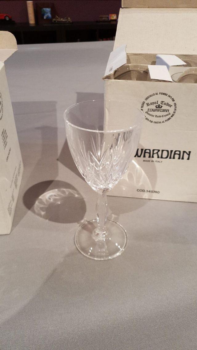 Copas de Cristal de vino (docena)