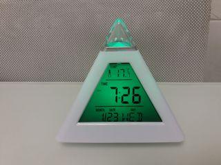 despertador nou, termometre