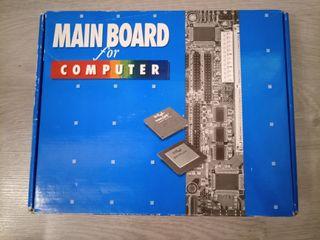 placa base 486 + cpu + ram