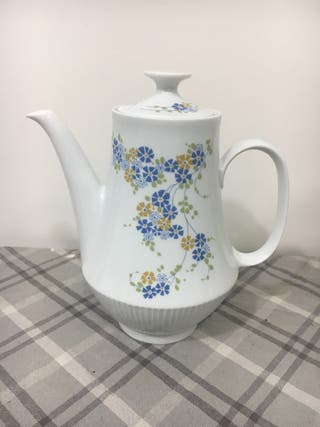 Tetera cafetera porcelana alemana