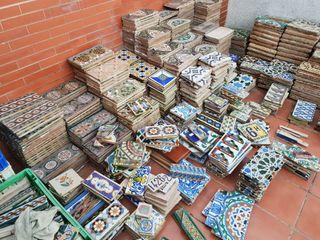 azulejos antiguos Ramos Rejano ,Mensaque