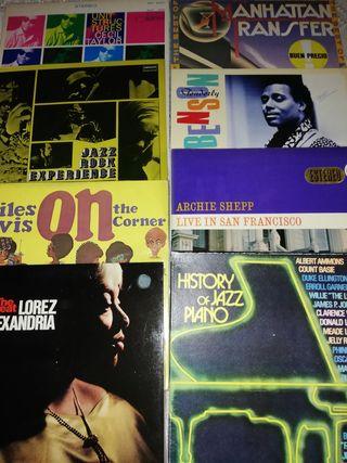 Discos de vinilo de Jazz