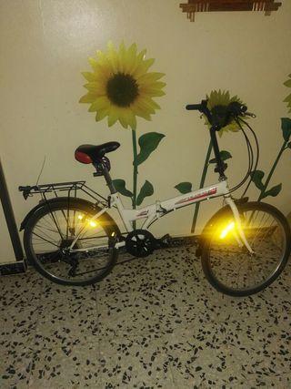 """Bicicleta plegable Folding 24"""""""