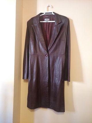 gabardina , abrigo piel