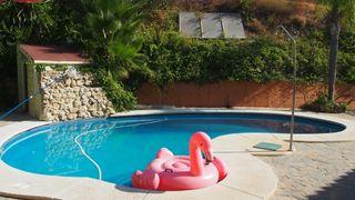 Villa rustica con piscina salada y pista de papel
