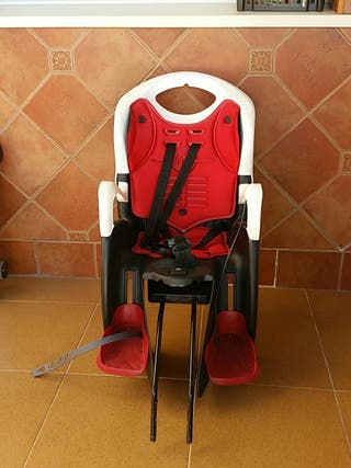 silla bici reclinable bebe bellelli